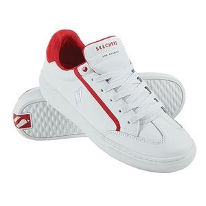 Women's Skechers Soft Line White Red Shoes 6 US